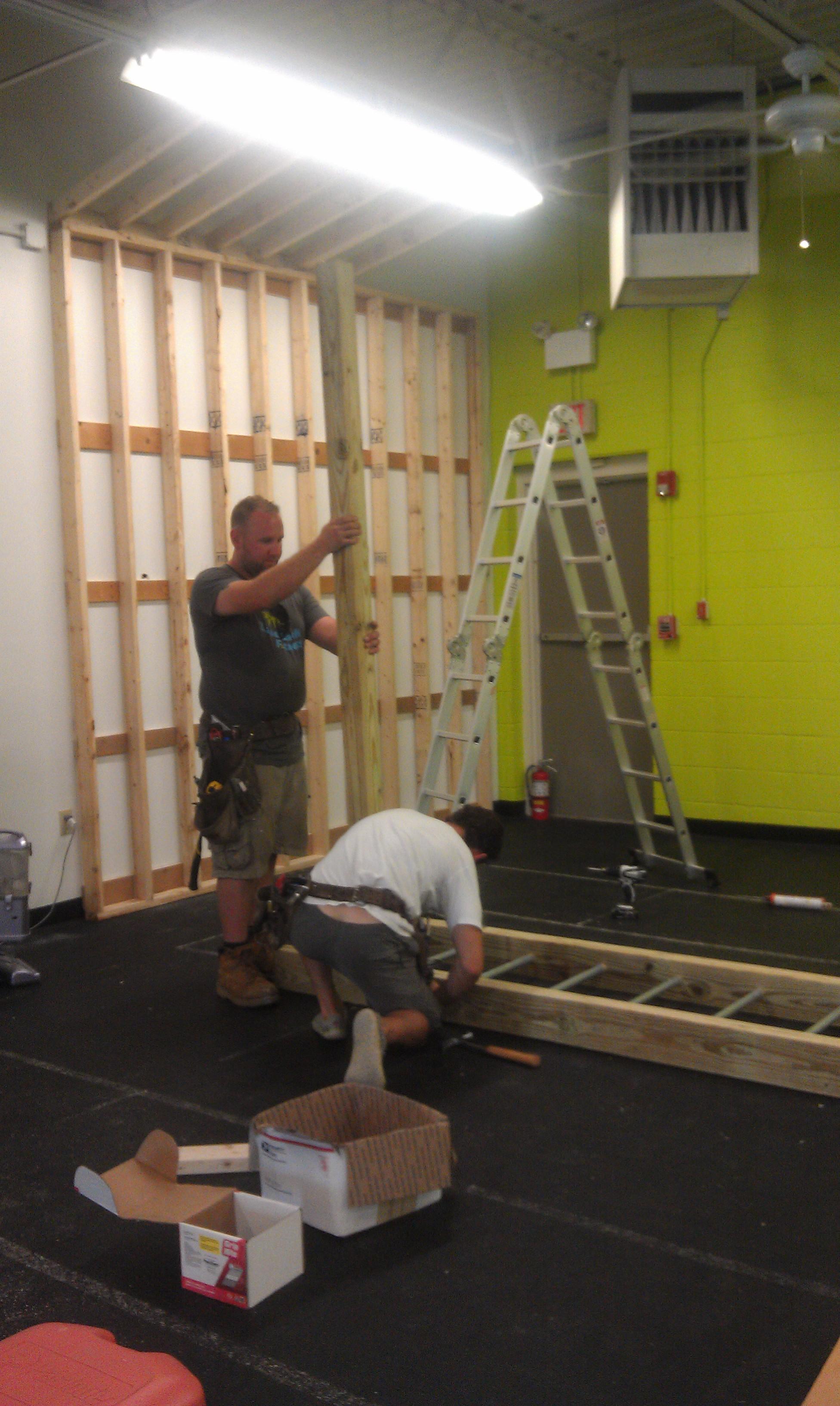 Building The New LbF - Build monkey bars ladder