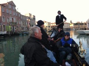 Holy Sh*t Rowing a Gondola in Venice!