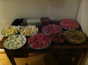 ...and gradually we shifted towards more traditional Venetian fare!