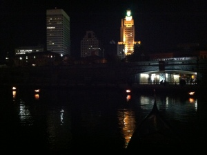 My last waterfire trip of the 2012 season!