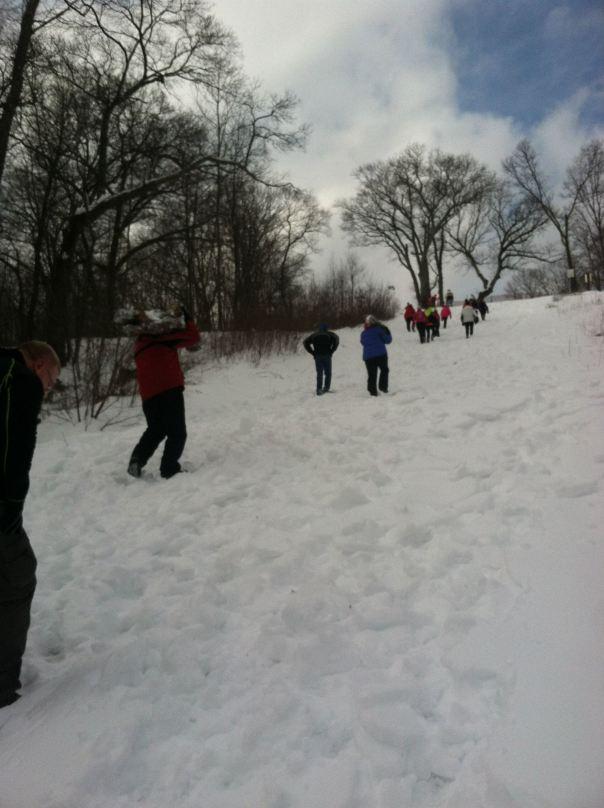 Snowy Oso Carry