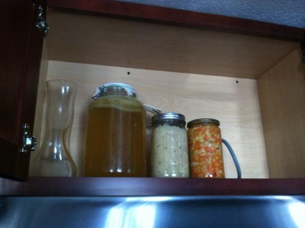 Kombucha, Sauerkraut, Kimchi